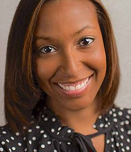 Stephanie Crosier (pictured) is a former Education Entrepreneur Fellow and is also now the CEO of ChicagoRise,an educational experience that she designed and implemented at a school in Altgeld Gardens. Photo Credit: Chicago International Charter School