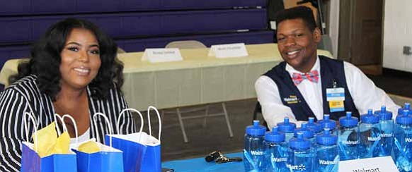 The Blue Island/Robbins Neighborhood Network recently hosted their first Job Fair as a way to provide sustainable employment opportunities to members of the community. Photo Credit: Blue Island/Robbins Neighborhood Network.