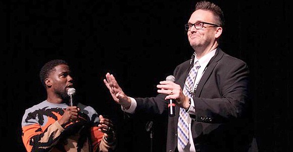 Juniors and seniors at Booker T. Washington for the Performing and Visual Arts got a shock, Sept. 12. Dr. Scott ...