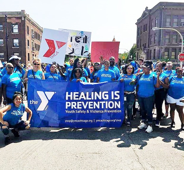 A $1 million grant is allowing the YMCA of Metro Chicago to expand their Youth Safety and Violence Prevention initiative to two more communities and expand mental health services across the city. Photo Credit: YMCA of Metropolitan Chicago