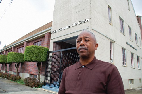 The Albina Christian Life Center in north Portland is one of a number of historically black churches in Portland that do not meet new earthquake safety standards, along with hundreds of other commercial buildings and several schools.  Bishop Marcus Irving, pastor of the Albina center, says the cost to make $1 to $1.75 million in upgrades to the church would be difficult to obtain and fears that could trigger the city to condemn the church building or force it to close.