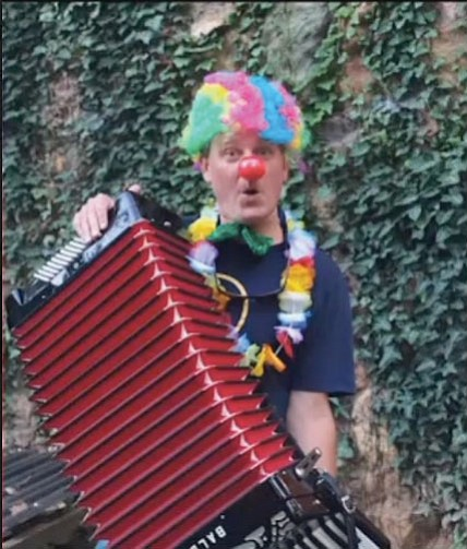 A Virginia man has been trying to secure a permit so a group of accordion-playing clowns can...