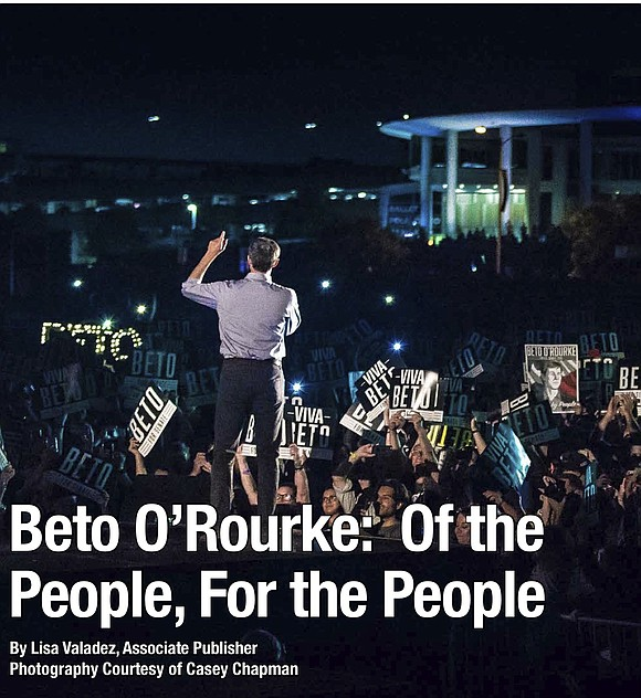 "The first time I saw Beto O'Rourke was February 2017, well before he became ""Beto O'Rourke For Senate."""