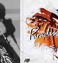 """(Left) Baltimore recording artist Ch4n. (Right) Ch4n's five song EP """"Paradise Tape"""" can be found on all major platforms, including: Spotify, Apple Music and YouTube."""