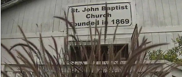KHOU reports that St. John Missionary Baptist Church in Missouri was built after a property swap in the 1930s.