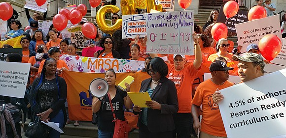 New York City's largest public school parent coalition, the Coalition for Educational Justice, held a rally with 75 parents, youth, ...