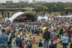 Thousands of people are expected along the city's riverfront this weekend for the 14th Annual Richmond Folk Festival.