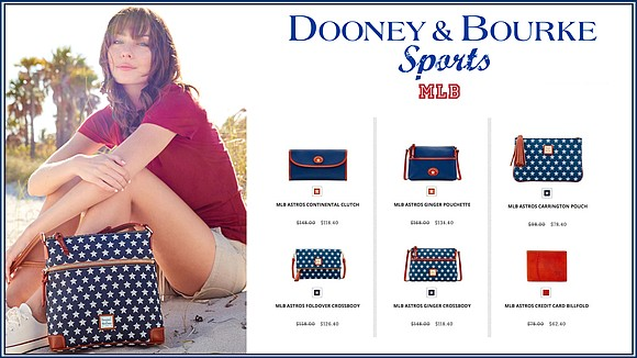 With Saturday's MLB Playoff Game approaching, cheer on the HOUSTON ASTROS with the latest collection of accessories from DOONEY & ...
