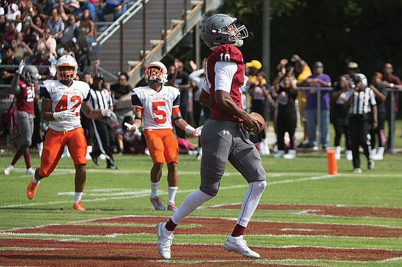 Looking back, Virginia Union University football has been on a historical roll. Gazing ahead, there are bumps in the road.