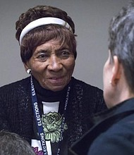 Laura Wooten has witnessed history at the ballot box working as a volunteer for nearly 80 years.
