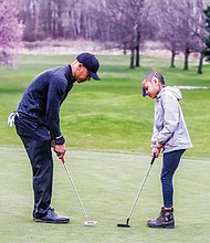Portland native and former professional golfer Vincent Johnson has some tips of the game for a beginning golfer. Johnson is the new director of golf with Portland Parks and Recreation.