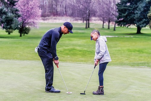 Vincent Johnson, a Portland native and former professional golfer who has championed growing the game of golf through outreach to ...