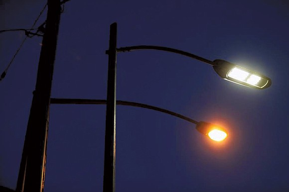 The city of Santa Clarita and Southern California Edison have completed installing new street..