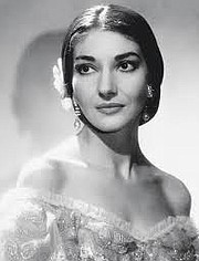 Maria Callas in her heyday in her most famous role Norma