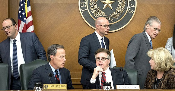 There is a chart on page 205 of the newest edition of a wonky and essential Texas government publication called ...