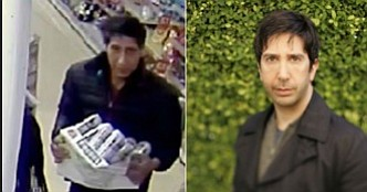 "Even ""Friends"" star David Schwimmer felt the need to provide an alibi, after British police released a CCTV image of ..."