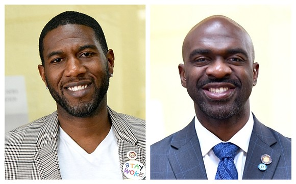 Brooklyn City Council Member Jumaane Williams and Bronx Assemblymember Michael Blake announce their plans to run for Public Advocate.