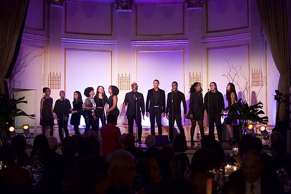 The Harlem School of the Arts Masquerade Ball and after-party was held Monday, Oct. 22, at The Plaza Hotel in ...
