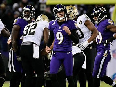 The Baltimore Ravens missed out on a chance to put the NFL on notice when they lost to the red-hot ...