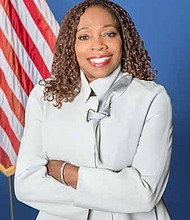 Longtime Matteson resident Sheila Chalmers-Currin is halfway through her first term as mayor of Matteson, a south suburb rebuilding its economic growth. Photo credit: Wendell Hutson
