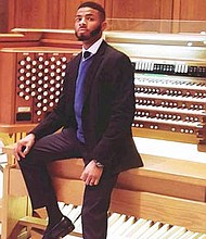 Pianist Roderick C. Demmings Jr. will be featured at Jazz Night on Friday, November 2, 2018 at 7 p.m. in the Social Hall at First Baptist Church of Baltimore in the Social Hall located 4200 Liberty Heights Avenue in Baltimore City.