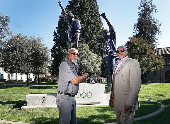 Tommie Smith and John Carlos were among the fastest men of their generation. But it wasn't what they did on ...