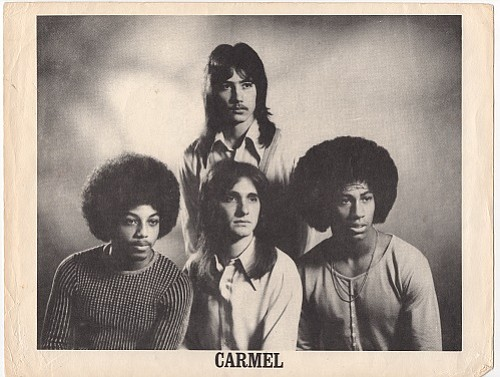 Carmel, 1974. Pictured: Jackie Gilbert, Joey Barber, Steve, Leslie White.