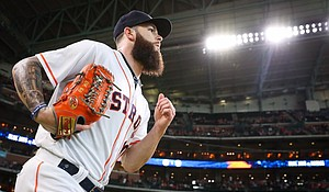 pitcher Dallas Keuchel