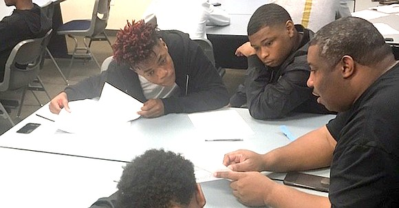 The Dallas ISD Racial Equity Office has partnered with the Project MALE Program to provide young men from Wilmer-Hutchins Elementary ...