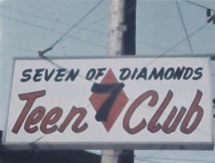 Seven Of Diamonds club.