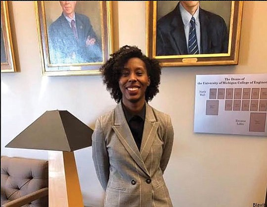 Ciara Sivels knew she was going to make history, but she really wanted to focus on finishing her Ph.D.