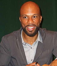 Chicago rapper, Common (pictured), and tennis superstar, Serena Williams, recently sat down for a Creative Minds Talk in downtown Chicago to discuss activism, philanthropy, and entrepreneurship. In this photo, Common is at a signing for his book One Day It'll All Make Sense in Tribeca, Manhattan, in 2011. Photo Credit: Luigi Novi / Wikimedia Commons.