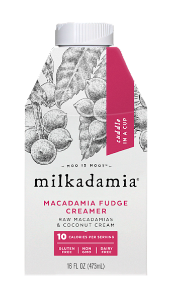 Milkadamia is a non-GMO, gluten, and soy free brand of macadamia nut milks and scintillating creamers whose sustainably farmed nuts ...