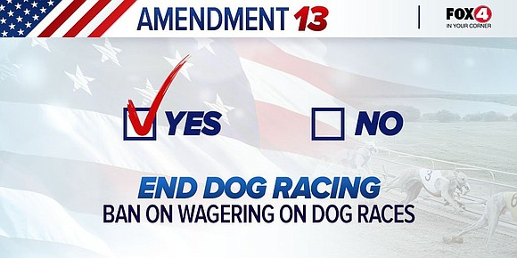 The results are in, and Florida residents voted to ban dog racing. That means after Dec. 2020 dog racing and ...