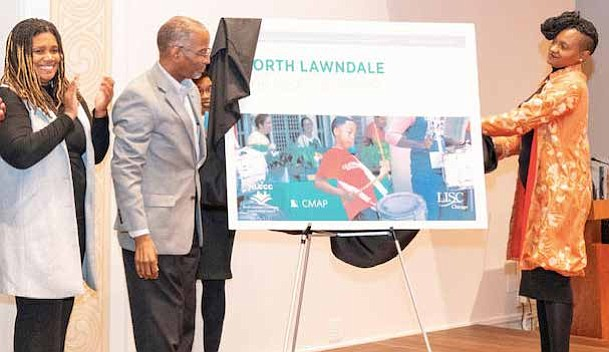 A Quality of Life Plan was recently unveiled for the North Lawndale community and will serve as a resource for residents and a blueprint for investors for years to come. Photo Credit: Norvell's Photography