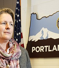 The Portland FBI office honors military veterans like FBI Supervisory Special Agent Denise Biehn who started her career in the U.S. Army before studying law, becoming a lawyer, federal prosecutor and then joining the FBI.