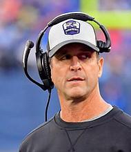 Baltimore Ravens Headcoach John Harbaugh