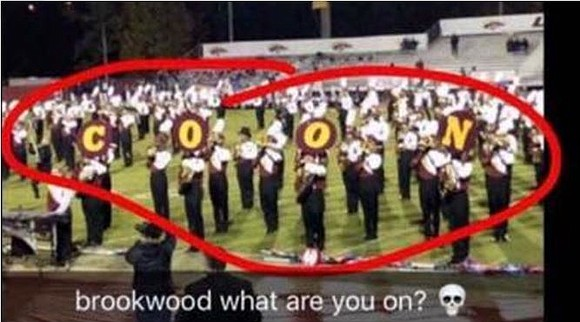 The halftime show at a Nov. 2 Georgia high school football game caught spectators by surprise when one of the ...
