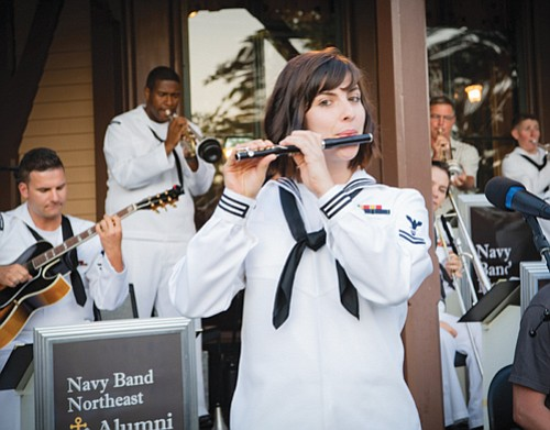 Petty Officer 2nd Class Haley Cameron of Portland has served in the Navy for two years as a musician. She ...