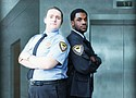 Racial profiling, sexual harassment and police corruption are themes that emerge in 'Lobby Hero,' the fall production staring Matt Cornett and Crishawn West, at Clackamas Community College.