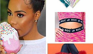 Mieka Joi's Rich Girl Candy fashion line celebrates five years of fashion fun with an abundance of colorful creativity meshing the cultures of electronic dance music and hip hop!