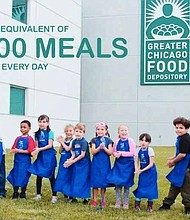 A music video was recently released by The Chicago Children's Theatre in collaboration with the Greater Chicago Food Depository to create a Hunger Awareness in Chicago. Photo Credit: Provided by The Chicago Children's Theatre