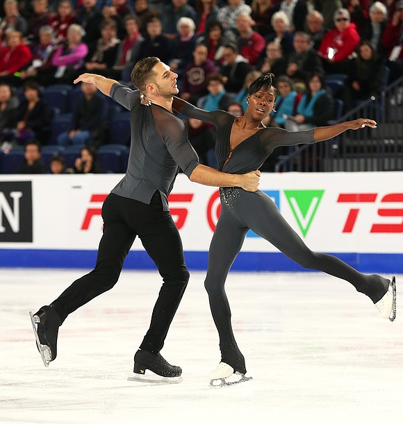 French pair skaters Vanessa James and Morgan Ciprès finished the 2017-18 season on a very positive note by winning their ...