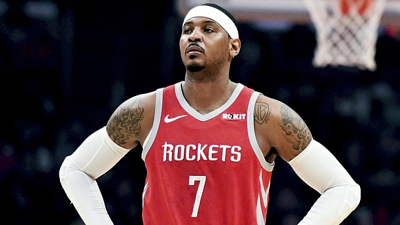 Houston Rockets General Manager Daryl Morey today issued a statement on forward Carmelo Anthony's future with the team.