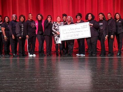 Alpha Kappa Alpha Sorority, Inc. - Alpha Kappa Omega Chapter donates $1,509.00 to the Inner City Nutcracker