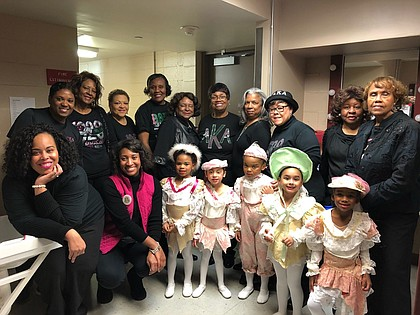 Alpha Kappa Alpha Sorority, Inc. - Alpha Kappa Omega Chapter members with some of the kids in the Inner City Nutcracker