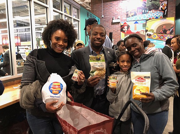 Harlem State Sen. Brian Benjamin, in partnership with Whole Foods Market, hosted his second annual Turkey Giveaway to help feed ...