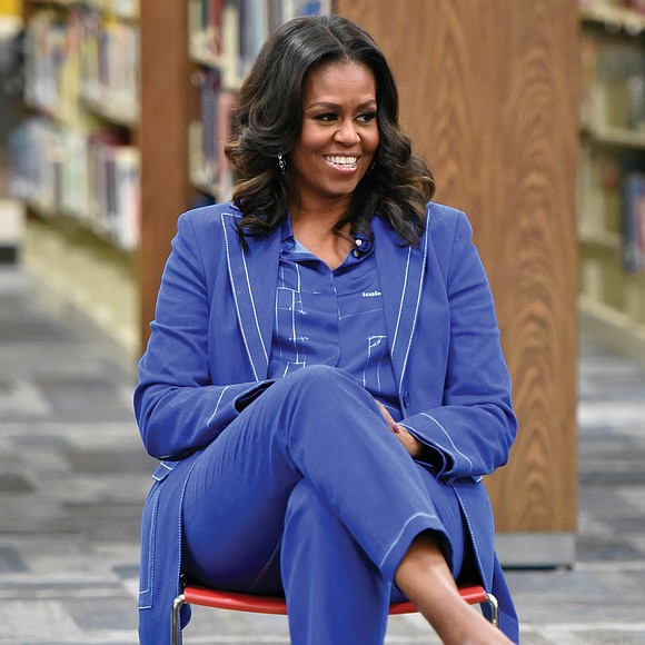 "On its first day on sale, Michelle Obama's new memoir already is a best-seller. The former first lady's book, ""Becoming,"" ..."