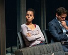 "Kerry Washington and Jeremy Jordan in ""American Son"""
