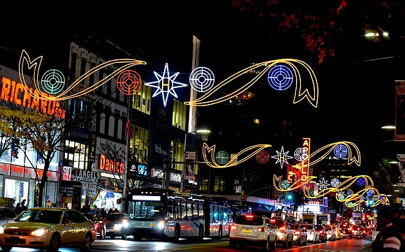 The 125th Street Business Improvement District hosted its 25th annual Harlem Holiday Lights Event Monday on 125th Street between Fifth ...